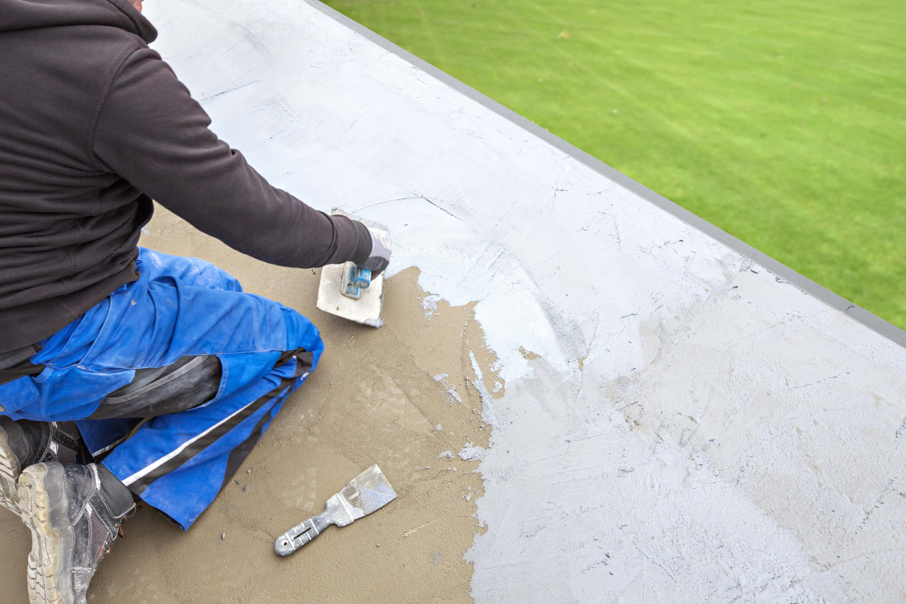 Types of concrete sealer