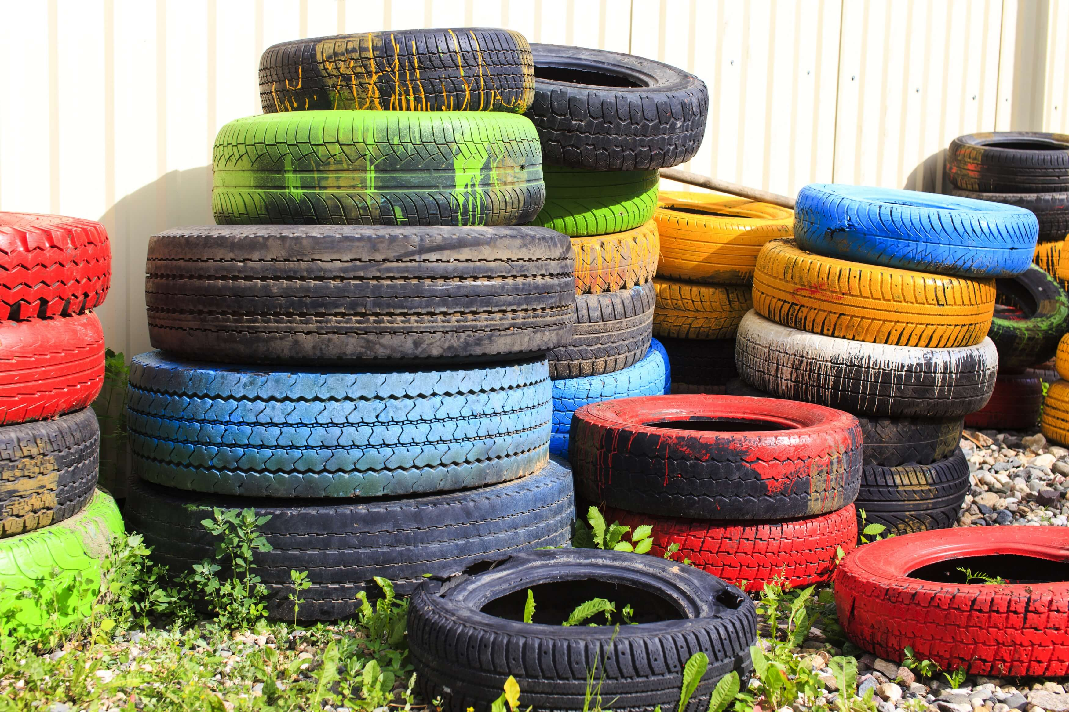 recycled tires in asphalt