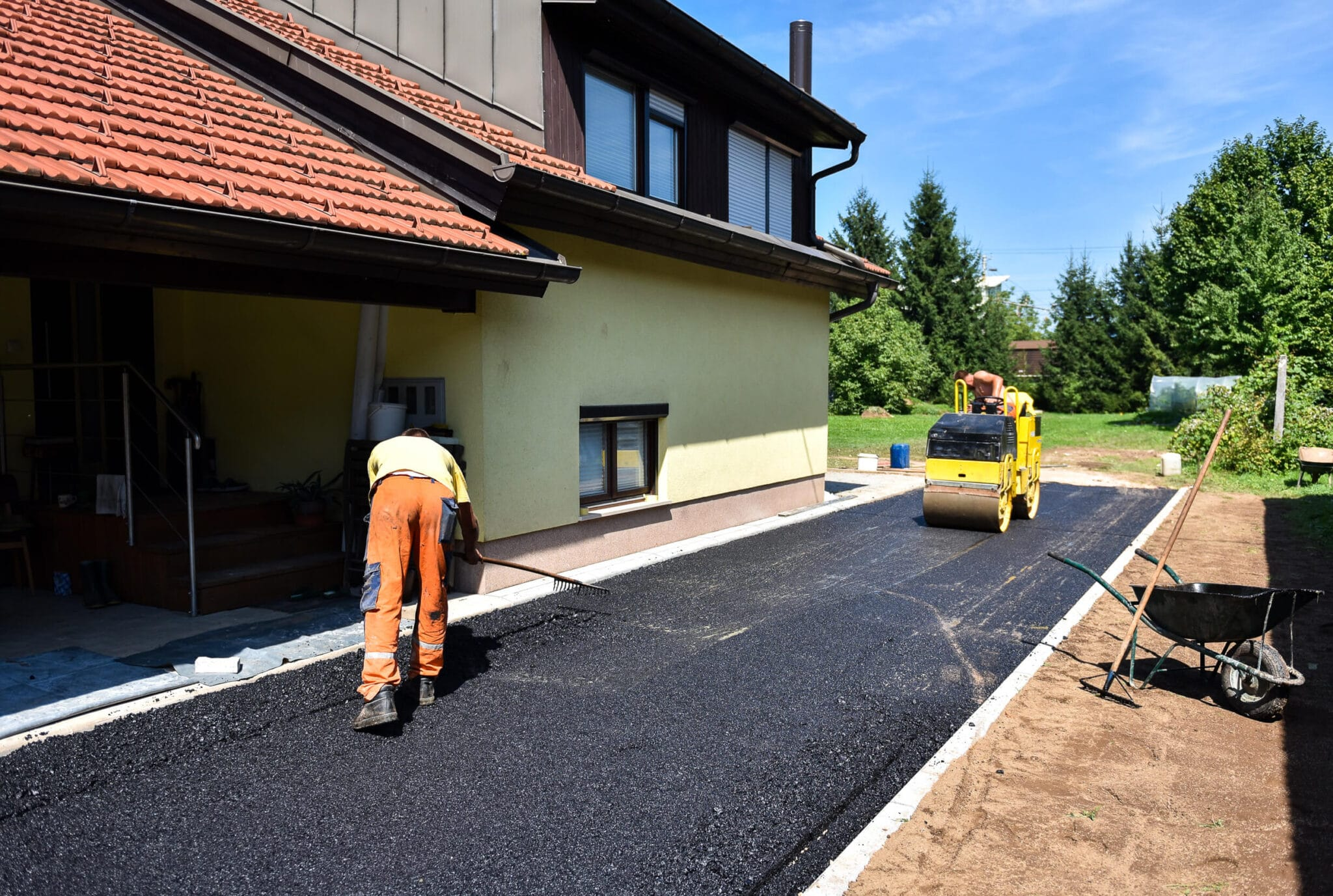 Asphalt to set