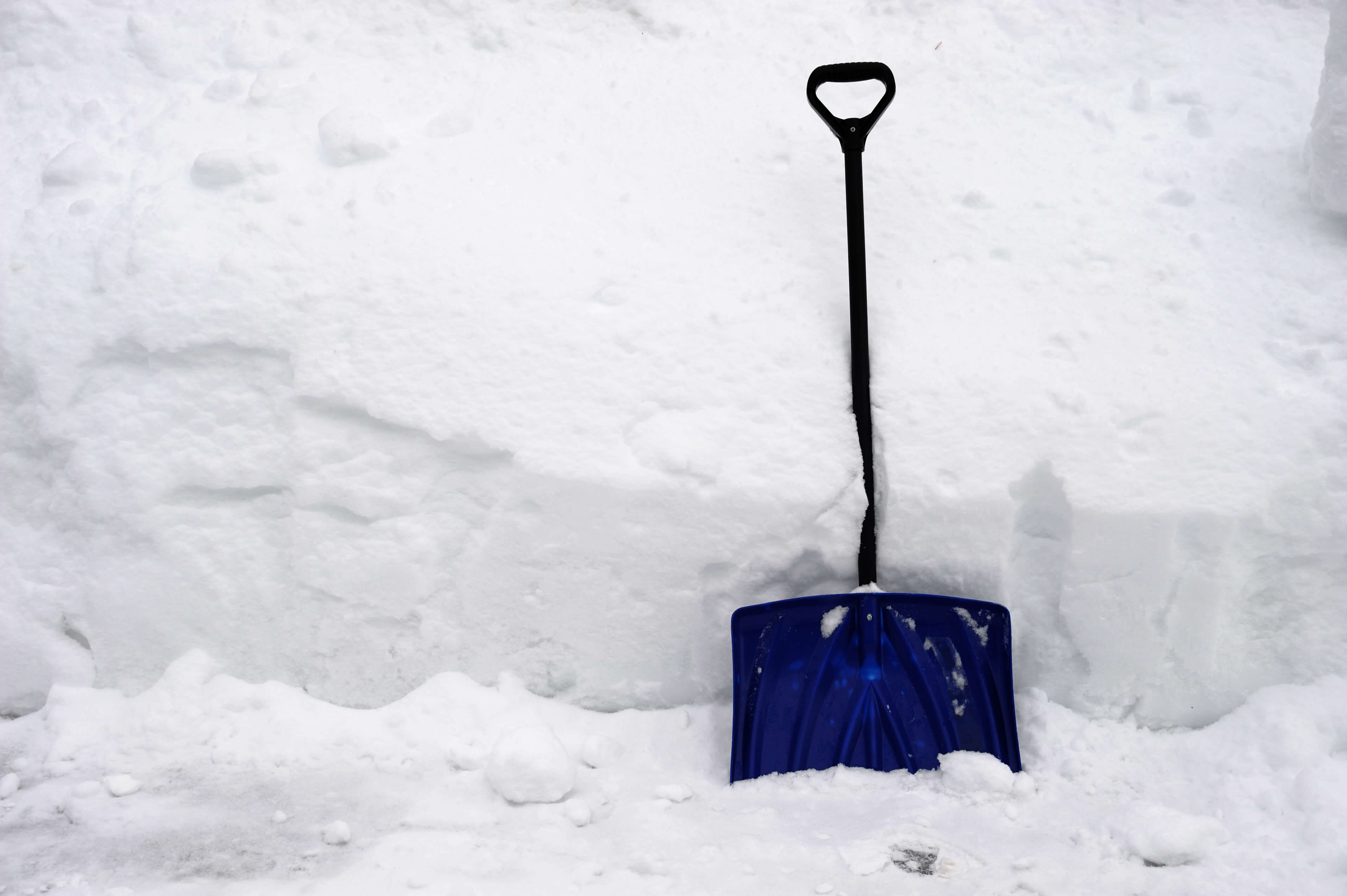 How to shovel a driveway