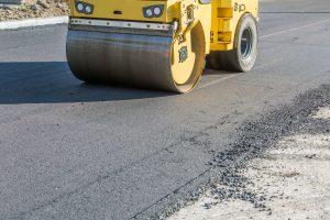 Rolling asphalt flat