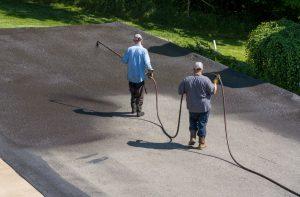 autumn asphalt maintenance