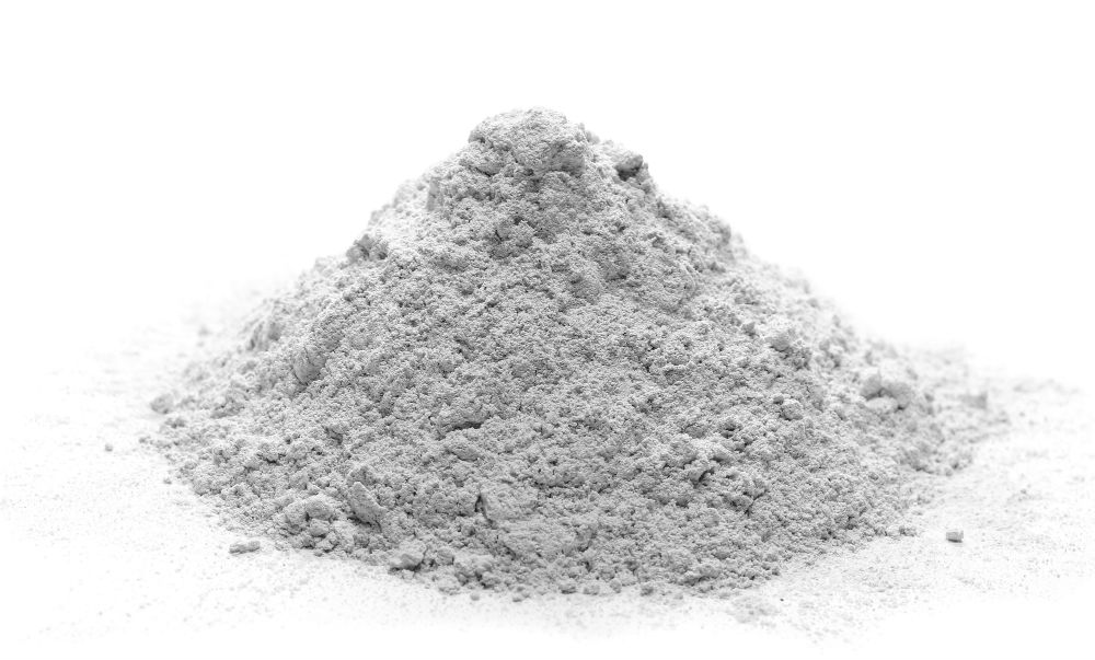 dry concrete powder
